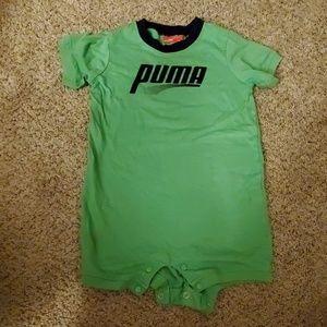 Euc Puma one piece short onsie